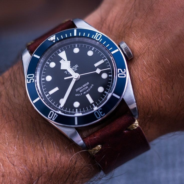 """Tudor Heritage Black Bay Blue Watch Review - by James Stacey - see the pictures, hands-on video, and read more on aBlogtoWatch.com """"The Heritage Black Bay has been a very successful model for Tudor as they reassert their place in the luxury sport watch game. Having only recently returned to the US and the UK, the Black Bay was undoubtedly part of that initiative and has enjoyed both consumer and critical success, including the GPHG Revival Prize in 2013..."""""""