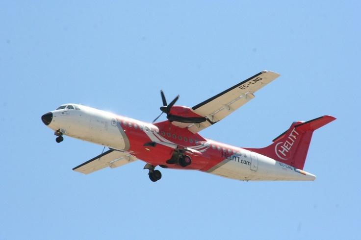 Avión ATR72 de Helitt