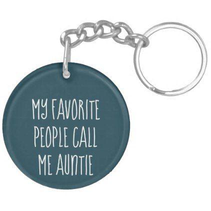 Aunt / Auntie Photo Key Chain - Gift - accessories accessory gift idea stylish unique custom
