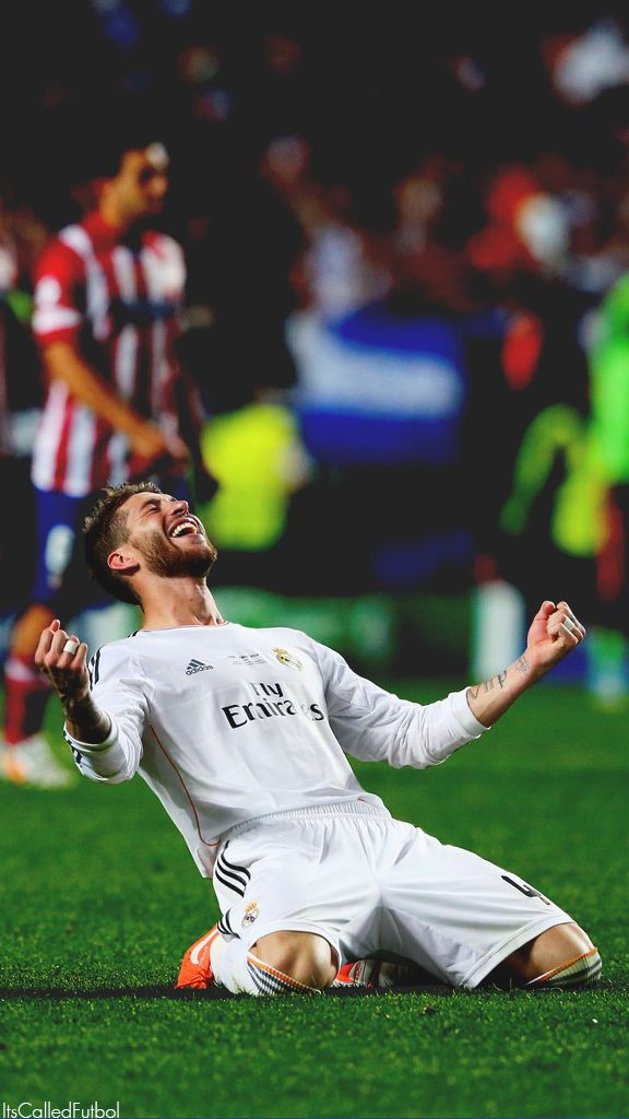 Sergio Ramos. Lock screen.