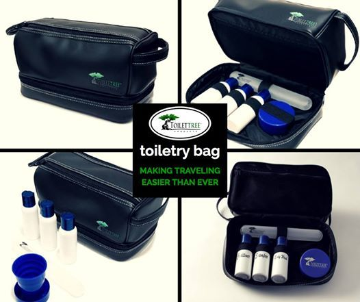 Flying soon? Don't forget your Toiletry Bag! #travel #toiletries #flying #vacationnecessities #accessories