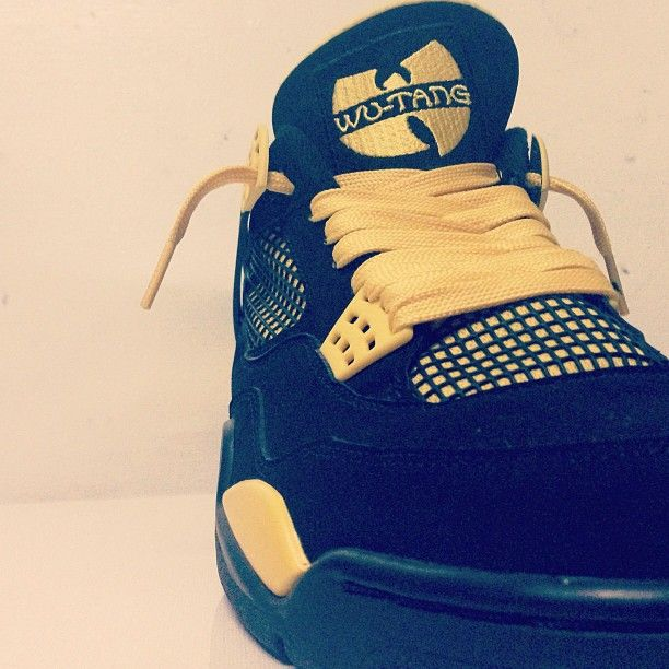 Air Jordan IV - Wu Tang Clan