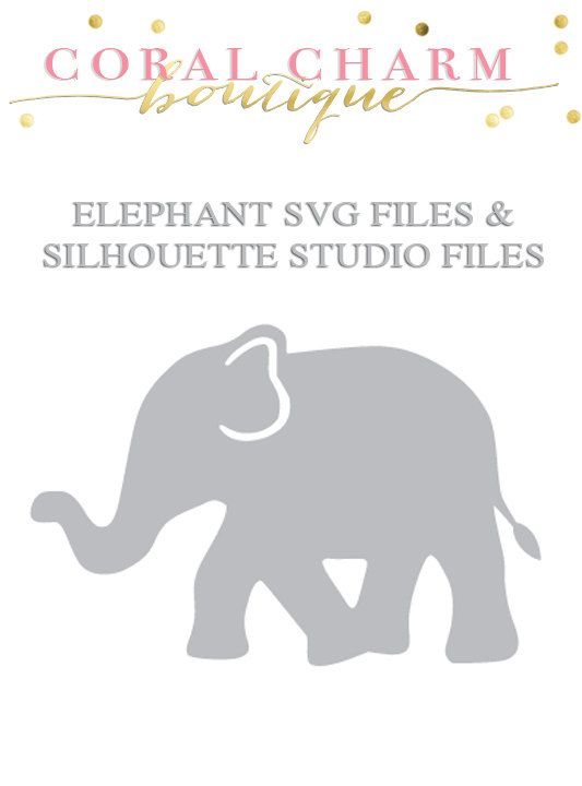 Download Elephant Design Files for Cutting Machines by ...