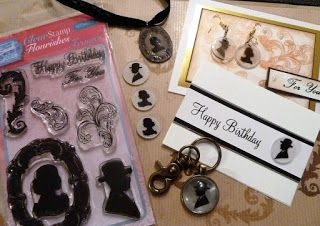 Personal Impressions Blog: Sweet Dixie Flourish Frames for Him & Her... using...