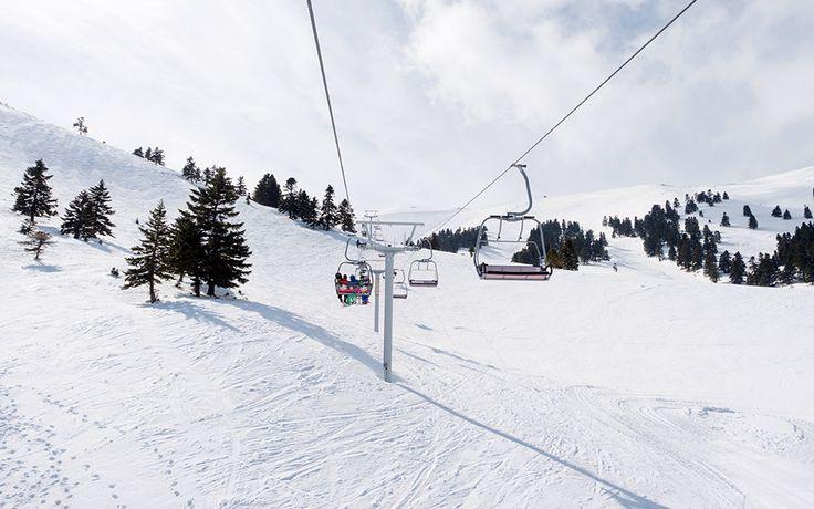 Kalavrita Ski Slopes