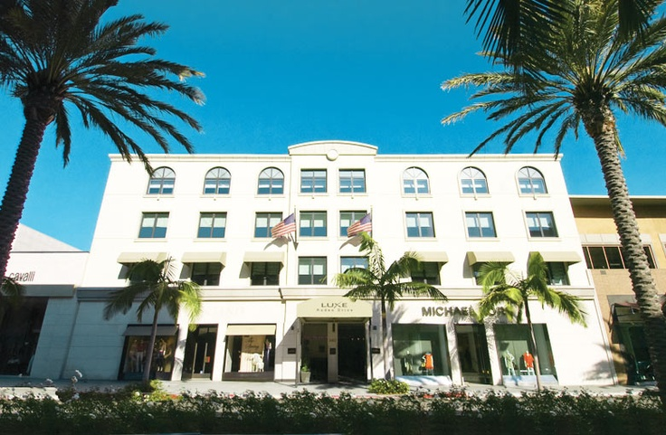 Luxe Hotel Beverly Hills  Where my daughter filmed part of her first movie.