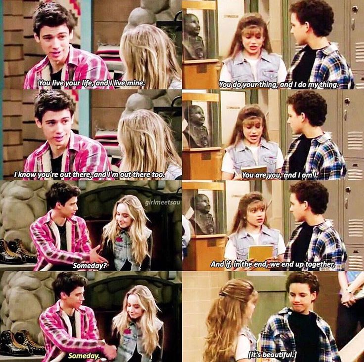 Girl meets world and boy meets world