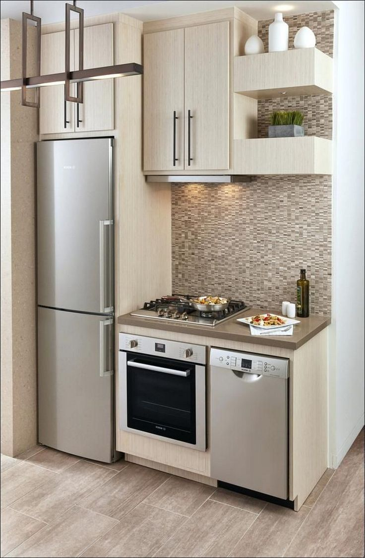 40 Exciting Small Modern Kitchen Design Ideas (3 ...