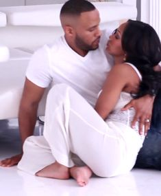 This is it, Megan Good and husband