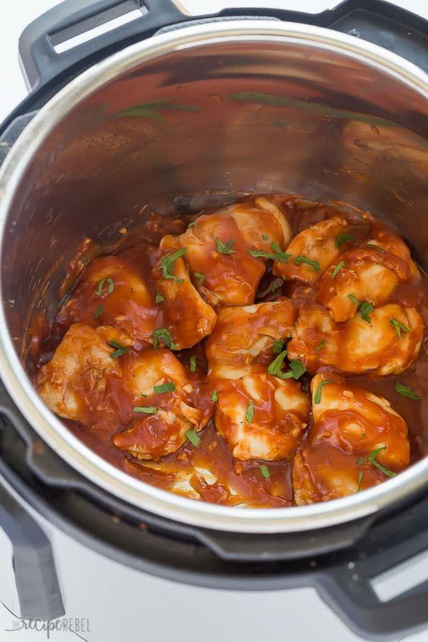 Varsity Schnauzer Slouchy Tee Instant Pot Recipes Chicken Instant Pot Frozen Chicken Thighs Recipe Bbq Chicken Thighs