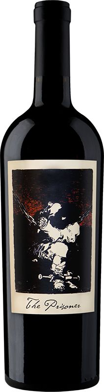 The Prisoner Wine Label: I love this illustration, particularly the olf fashioned, mysterious evocation by its pen and ink illustration and scripted title. I believe that liquor has mandatory information that you need to put up front, but portraying it subtly sounds appealing.