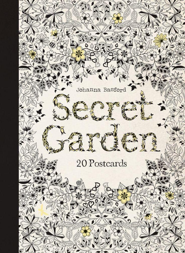 Secret Garden Johanna Basford Relaxing De Stressing Colouring