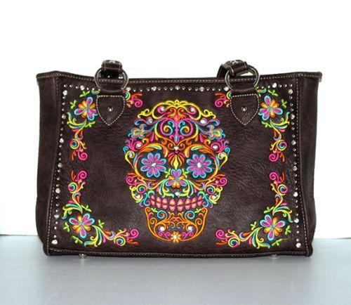 Montana-West-Sugar-Skull-Collection-Concealed-Handgun-Handbag