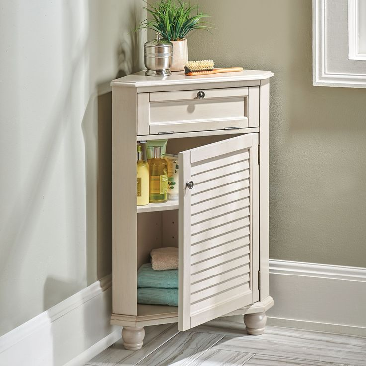 This small bathroom storage solution is perfect for for Storage solutions for small bathrooms