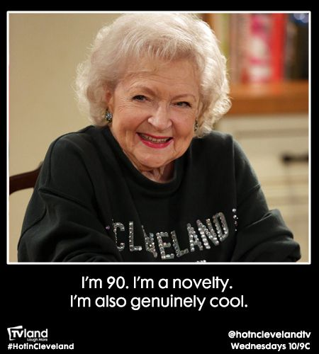 Top Quotes From Betty White On This Season Of Hot In Cleveland