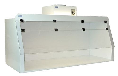 """Cleatech Chemical Resistant Fume hoods, 24"""" Ducted Fume Hood , Polypropylene with Polycarbonate Sash - http://www.globallabsupply.com/Cleatech_Chemical_Resistant_Fume_hoods_24_Ducted_p/1100-4-a.htm"""
