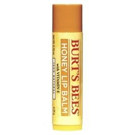 Burt's Bees Lip Balm - Honey. This is just fantastic- a real life saver for dry, sore skin. I had a really bad bout of eczema on my eyelids caused by stress and within a couple of days of using this it cleared. As it's 100% natural it's safe to use on your eyelids. And the smell is to die for too!