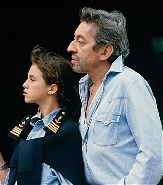 Serge et Charlotte Gainsbourg