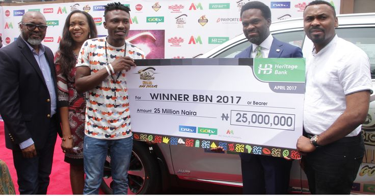 #BBNaija: Heritage Bank DSTV Present N25m SUV Automobile Grand Prize To Winner