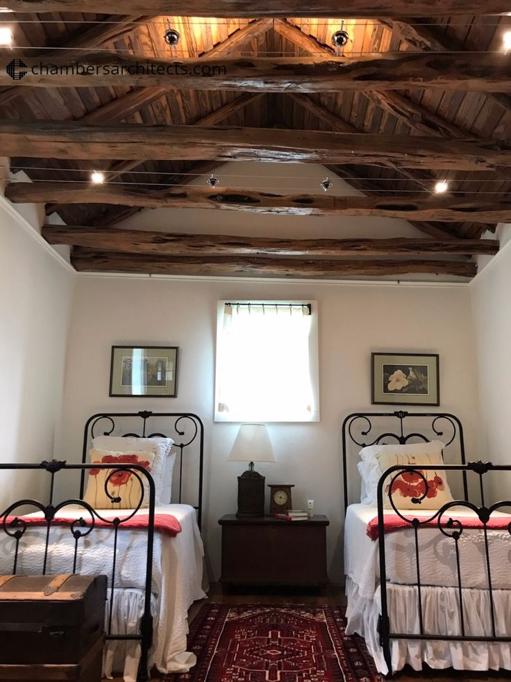Guest Room on a Historic Bosque County