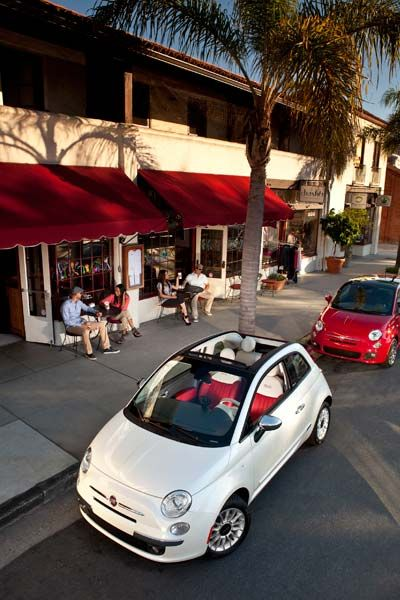 Fiat 500 Cabrio 2012: precio, ficha técnica, imágenes y lista de rivales | Lista de Carros