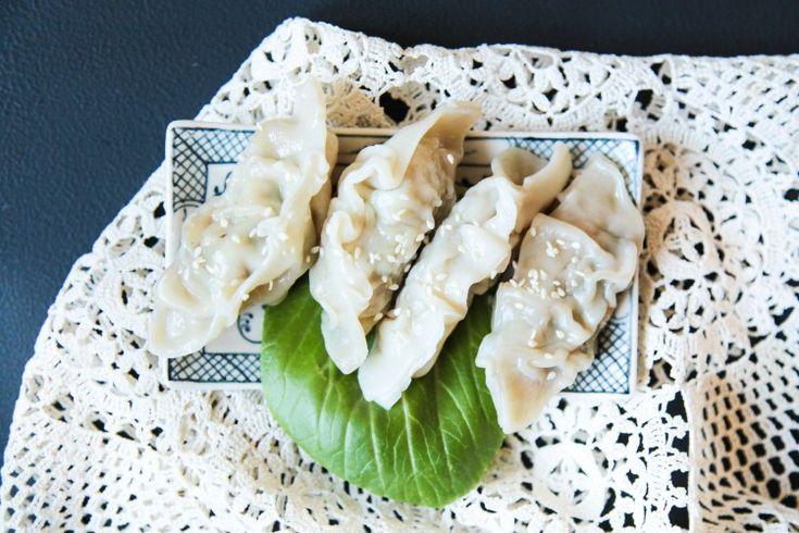 The Best Pork & Coriander Dumplings | Berries and Spice