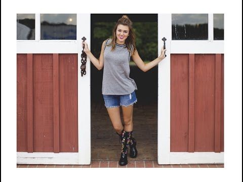 ▶ The Sadie Robertson 'Live Original' Collection by Roma Boots - YouTube