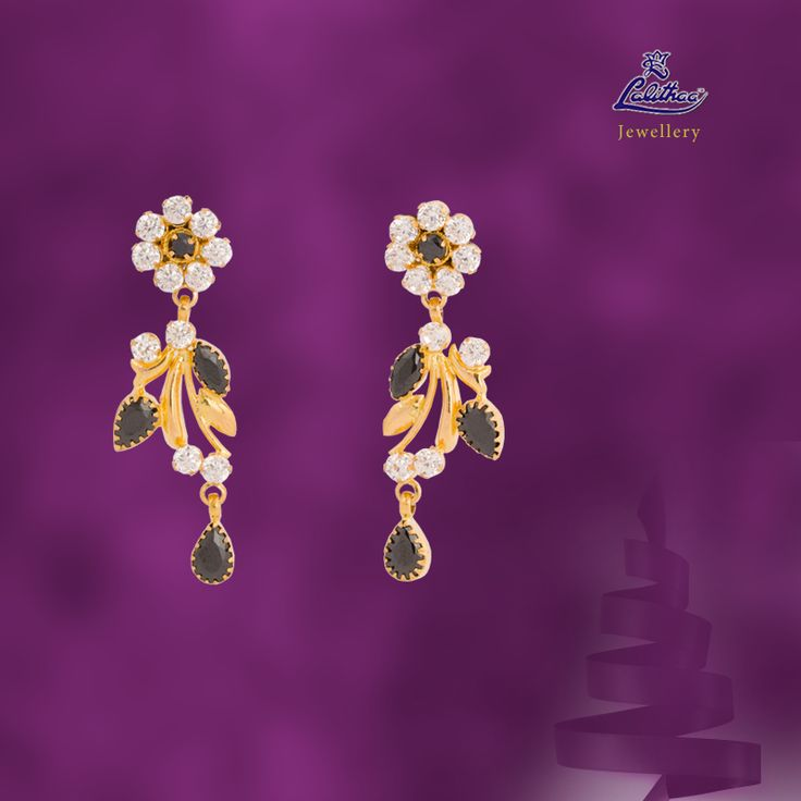 LALITHAA_JEWELLERY Alluring stylish ear piece that makes all eyes to fall on you....For variety collections visit - www.lalithaajewellery.com.  Buy Pendants Online Gold Fancy Bracelets Buy Bracelets Online Buy Bracelets for Women Diamond Bracelets Designs