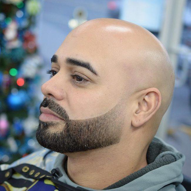 25 Short Hairstyles For Men With Cowlicks Stylendesigns Beard Fade Beard Bald Head With Beard