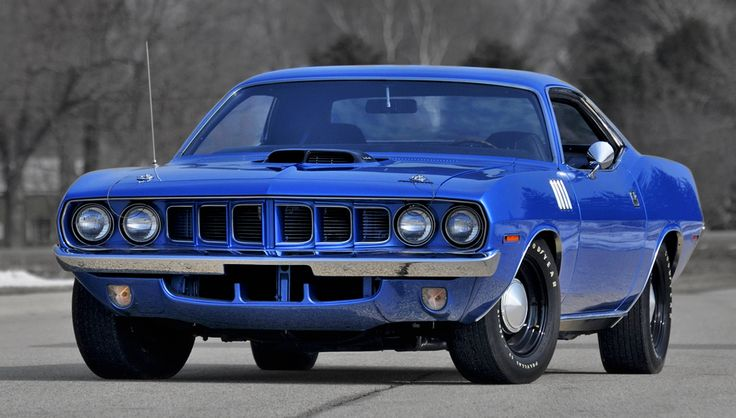 1971 Plymouth 'Cuda Maintenance/restoration of old/vintage vehicles: the material for new cogs/casters/gears/pads could be cast polyamide which I (Cast polyamide) can produce. My contact: tatjana.alic@windowslive.com