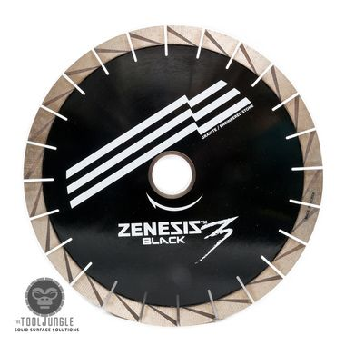 buy 14 Inch Zenesis Black 3 Silent Core Bridge Saw Diamond Blade 25mm