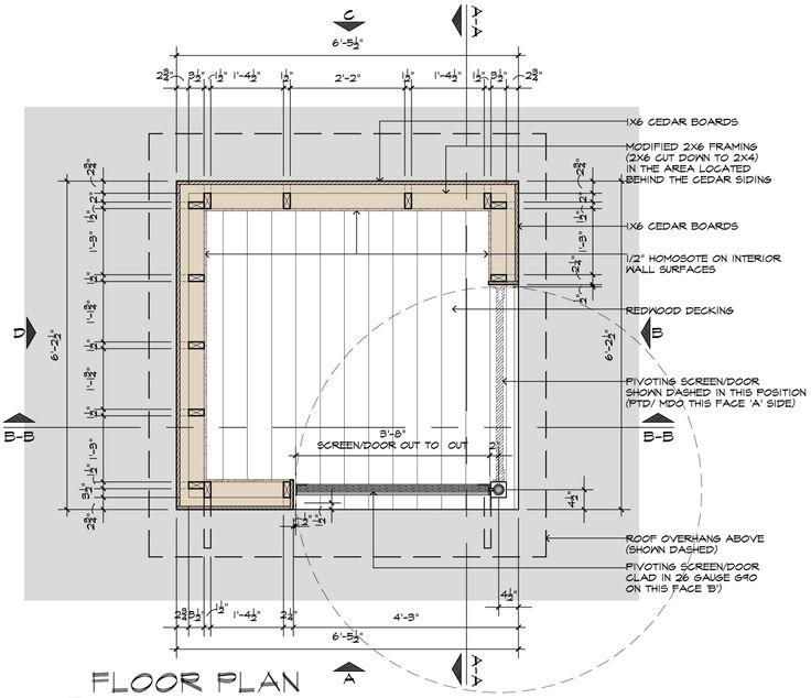 Movie Theater Playhouse CD's Floor Plan