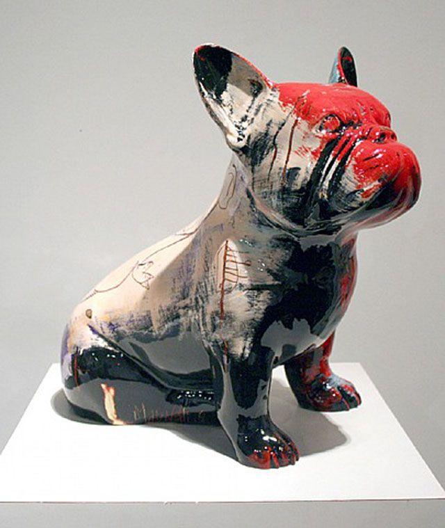 17 beste idee n over franse bulldog kunst op pinterest. Black Bedroom Furniture Sets. Home Design Ideas