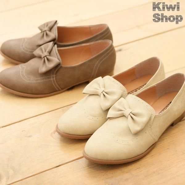 PERFECTION Bowed oxfords