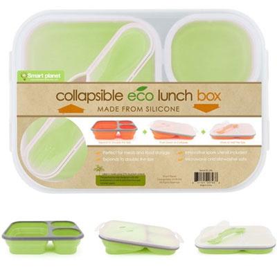 Eco-Silicone Collapsible Bento Box