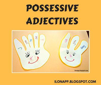 English Freak: Possessive Pronouns - ideas