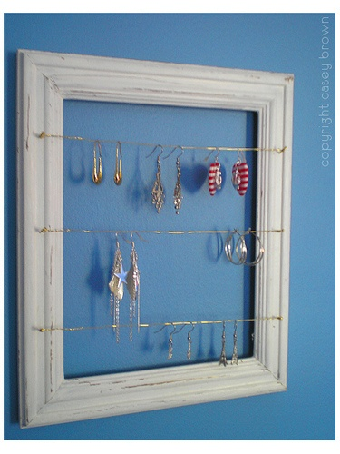 earring storage - Google Search