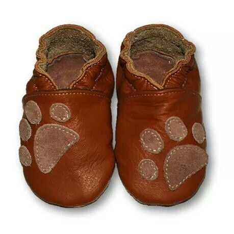 ekoTuptusie Łapki brąz Soft Sole Shoes Paws Brown Les chaussures pour enfants Krabbelshuhe https://www.fiorino.eu/