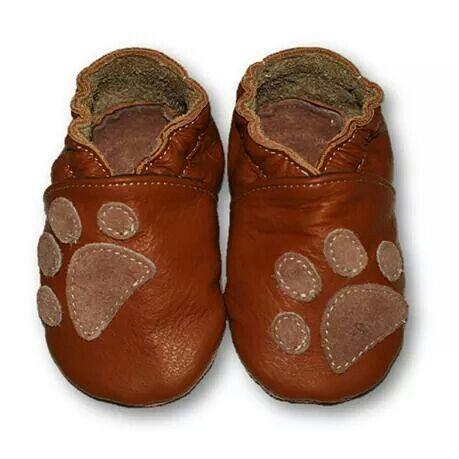 ekoTuptusie Łapki brąz Soft Sole Shoes Paws Brown Les chaussures pour enfants Krabbelshuhe https://www.fiorino.eu/