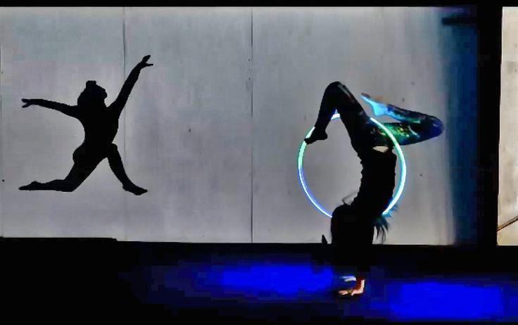 LED Hoop Ninja Feat. Rachael Lust