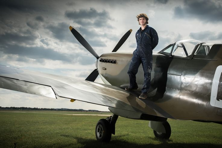Guy Martin Spitfire - Amazing programme showing restoration on a MK1 Spitfire that crashed on a French beach in WW2.