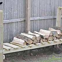 DIY Log Holder
