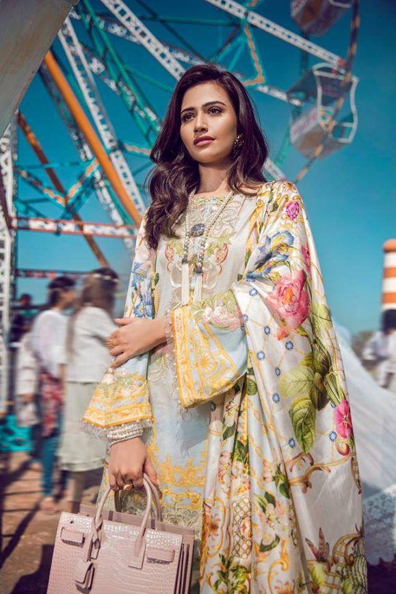 fc36f43f40 Latest Pakistani Lawn Brands Designer Dresses Collections 2019 | Atuendos  alrededor del mundo | Dresses, Designer dresses, Fashion