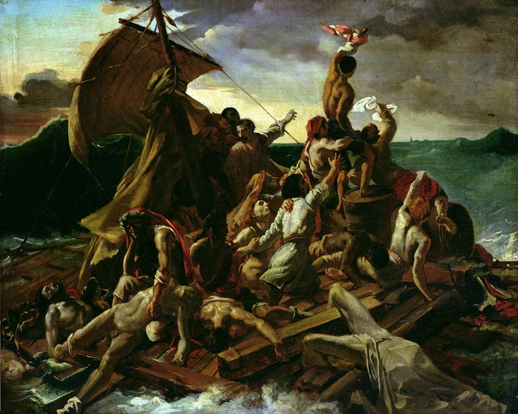 The Raft of the Medusa - Theodore Gericault: