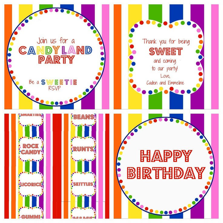 181 best Party - Candyland images on Pinterest | Candyland ...