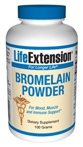 Life Extension Bromelain 100 grams