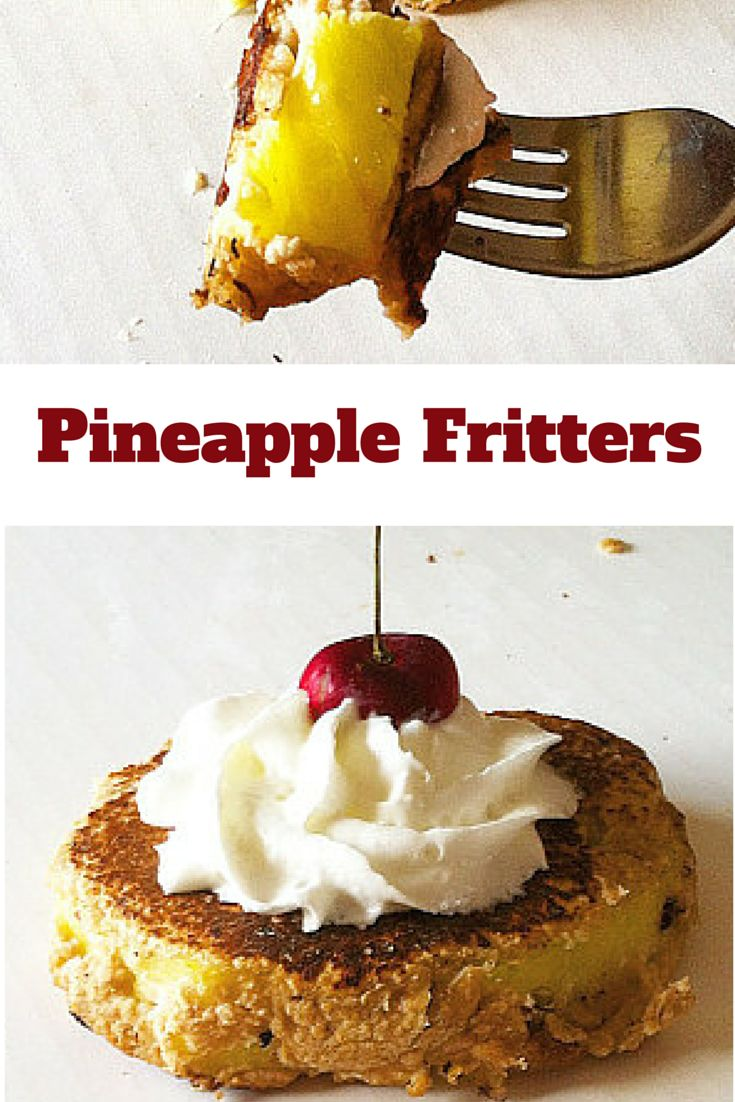 Try these #healthy Pineapple Fritters for an easy and crowd-pleasing ...