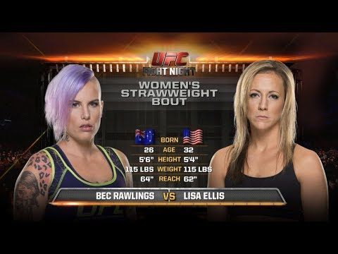 MMA Fight Night Sydney Free Fight: Bec Rawlings vs Lisa Ellis