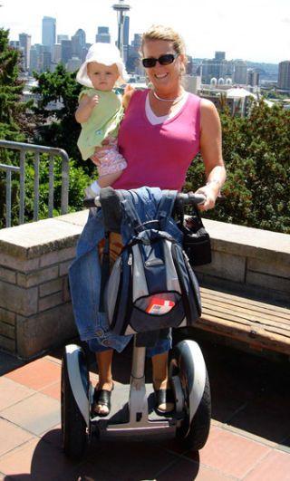 I Am Very Sorry, Segway Stroller Lady