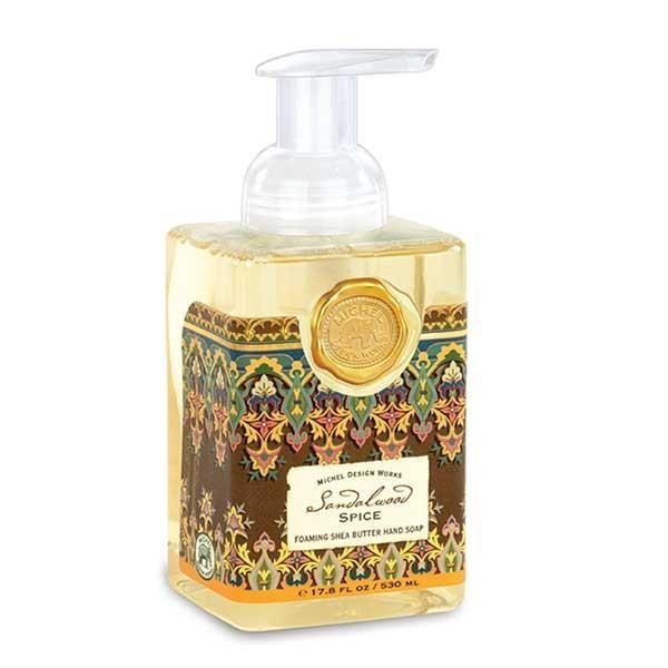 Sandalwood Spice Foaming Soap Michel Design Works